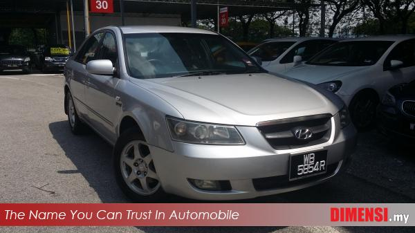 sell Hyundai Sonata 2006 2.4 CC for RM 21800.00 -- dimensi.my