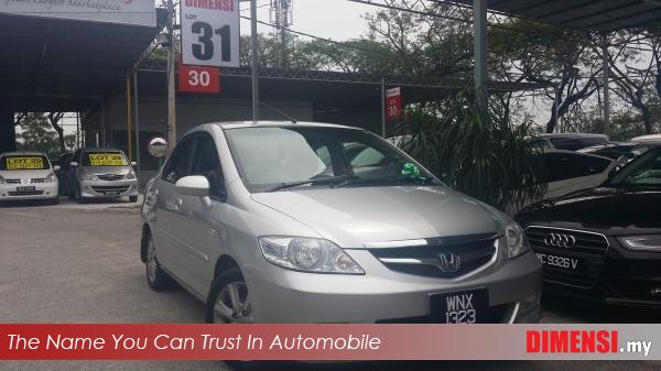 sell Honda City 2006 1.5 CC for RM 26800.00 -- dimensi.my