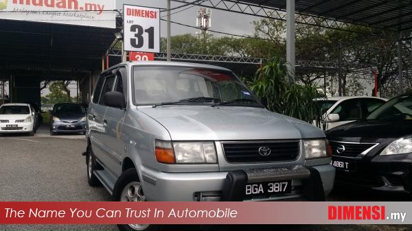sell Toyota Unser 2000 1.8 CC for RM 16800.00 -- dimensi.my