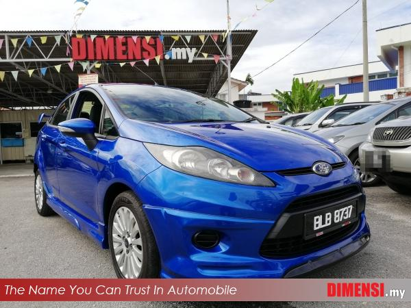 sell Ford Fiesta 2010 1.6 CC for RM 22900.00 -- dimensi.my