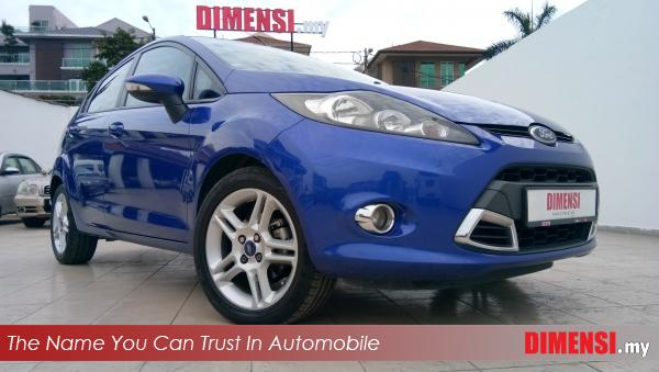 sell Ford Fiesta 2013 1.6 CC for RM 33800.00 -- dimensi.my