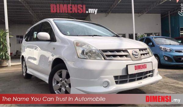 sell Nissan Grand Livina 2010 1.6 CC for RM 37800.00 -- dimensi.my