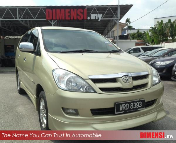 sell Toyota Innova 2008 2.0 CC for RM 41900.00 -- dimensi.my