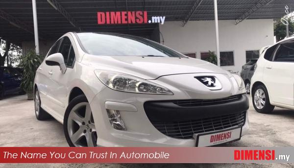 sell Peugeot 308 2011 1.6 CC for RM 21800.00 -- dimensi.my