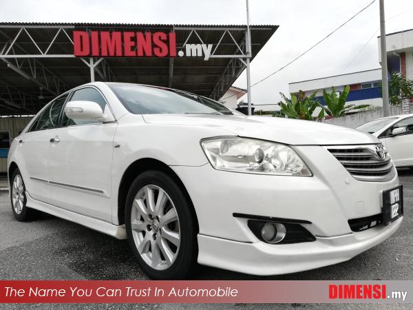 sell Toyota Camry 2009 2.4 CC for RM 55900.00 -- dimensi.my