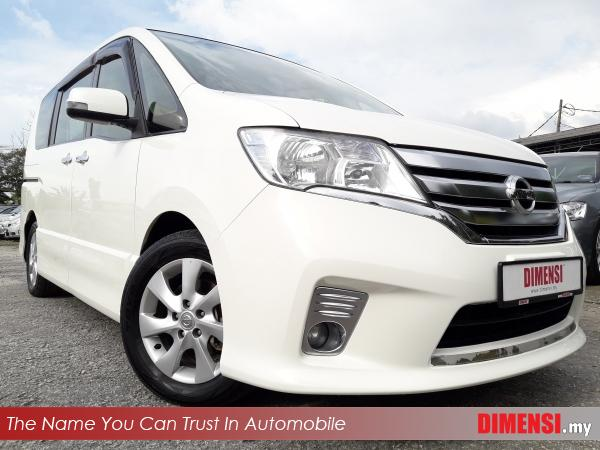 sell Nissan Serena 2013 2.0 CC for RM 75800.00 -- dimensi.my