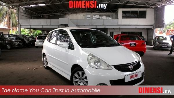 sell Honda Jazz 2008 1.5 CC for RM 39800.00 -- dimensi.my