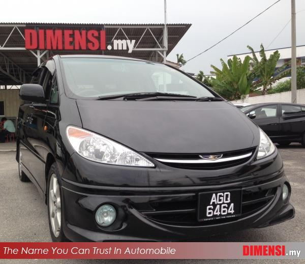 sell Toyota Estima 2003 2.4 CC for RM 41900.00 -- dimensi.my