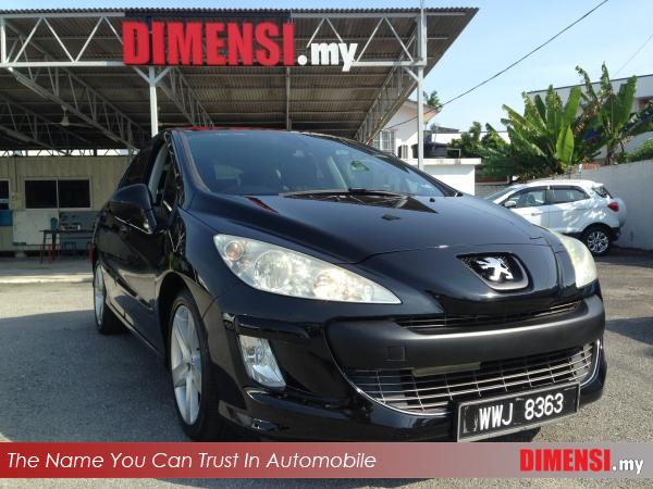 sell Peugeot 308 2012 1.6 CC for RM 23900.00 -- dimensi.my
