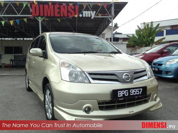 sell Nissan Grand Livina 2012 1.6 CC for RM 42900.00 -- dimensi.my