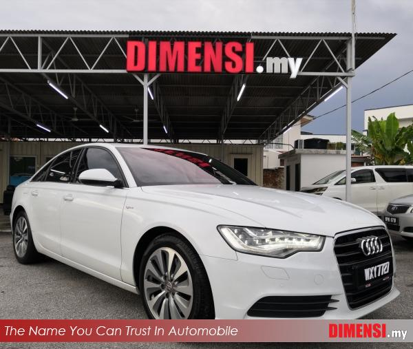sell Audi A6 2013 2.0 CC for RM 84900.00 -- dimensi.my