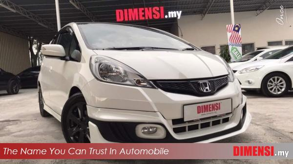 sell Honda Jazz 2014 1.5 CC for RM 47800.00 -- dimensi.my