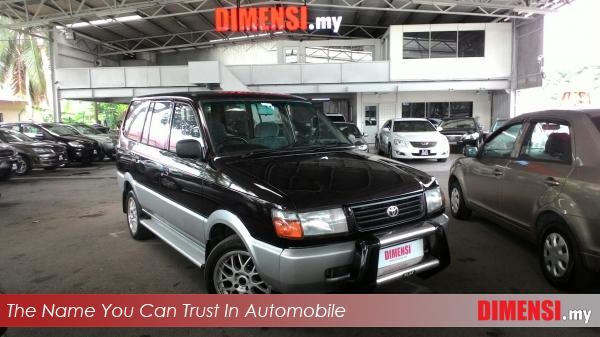 sell Toyota Unser 1999 1.8 CC for RM 10800.00 -- dimensi.my