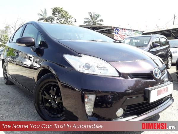 sell Toyota Prius 2013 1.8 CC for RM 43800.00 -- dimensi.my