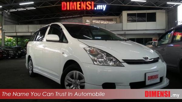 sell Toyota Wish 2003 1.8 CC for RM 37800.00 -- dimensi.my