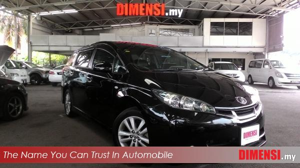 sell Toyota Wish 2009 1.8 CC for RM 74800.00 -- dimensi.my