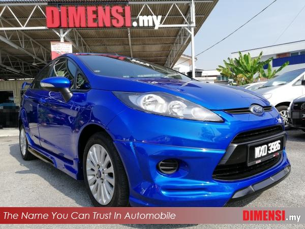 sell Ford Fiesta 2012 1.6 CC for RM 28900.00 -- dimensi.my