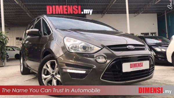 sell Ford S-MAX ECOBOOST 2012 2.0 CC for RM 58900.00 -- dimensi.my