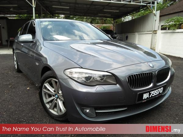sell BMW 523i 2010 3.0 CC for RM 89900.00 -- dimensi.my