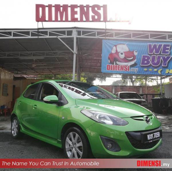 sell Mazda 2 2012 1.5 CC for RM 31900.00 -- dimensi.my