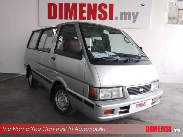 sell Nissan Vanette C22 2002 1.5 CC for RM 13800.00 -- dimensi.my