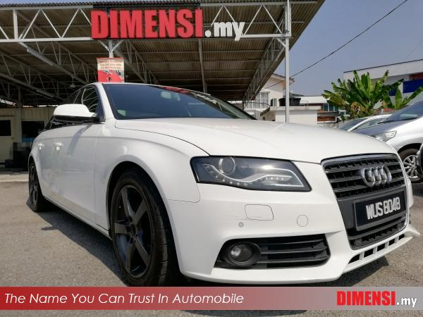sell Audi A4  2010 1.8 CC for RM 63900.00 -- dimensi.my