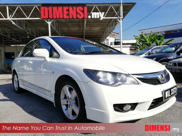 sell Honda Civic 2010 1.8 CC for RM 49900.00 -- dimensi.my