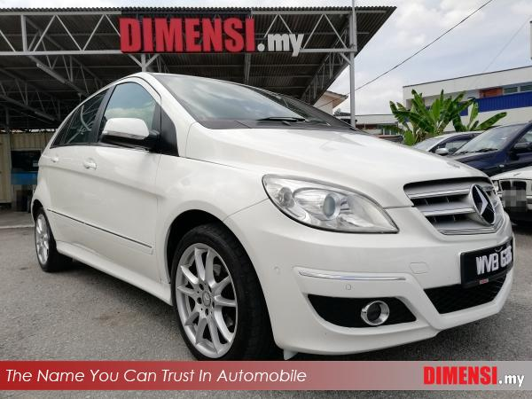 sell Mercedes Benz B180 2011 1.7 CC for RM 59900.00 -- dimensi.my