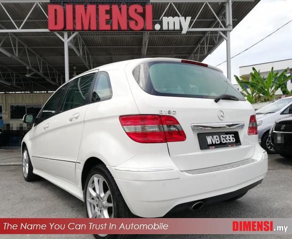 sell Mercedes Benz B180 2011 1.7 CC for RM 57900.00 -- dimensi.my the name you can trust in automobile