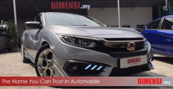 sell Honda Civic 2016 1.5 CC for RM 105800.00 -- dimensi.my