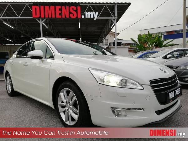 sell Peugeot 508 2013 1.6 CC for RM 49900.00 -- dimensi.my