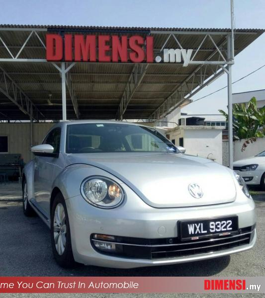 sell Volkswagen Beetle 2012 1.2 CC for RM 69900.00 -- dimensi.my