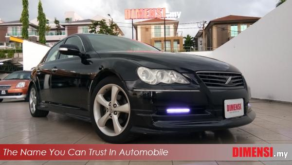 sell Toyota Mark X 2007 2.5 CC for RM 52900.00 -- dimensi.my the name you can trust in automobile