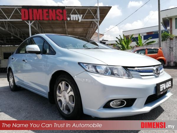 sell Honda Civic 2013 1.5 CC for RM 52900.00 -- dimensi.my