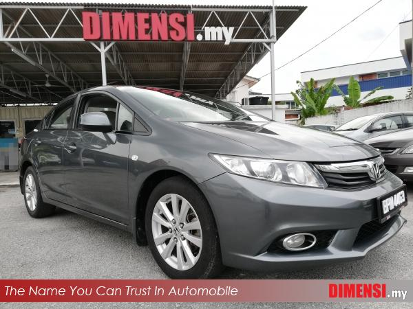 sell Honda Civic 2012 1.8 CC for RM 57900.00 -- dimensi.my