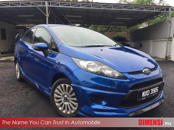 sell Ford Fiesta 2012 1.6 CC for RM 26900.00 -- dimensi.my