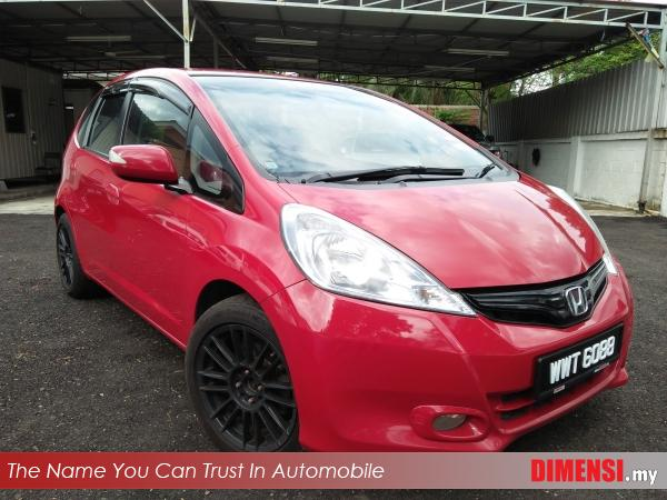 sell Honda Jazz 2012 1.3 CC for RM 43900.00 -- dimensi.my