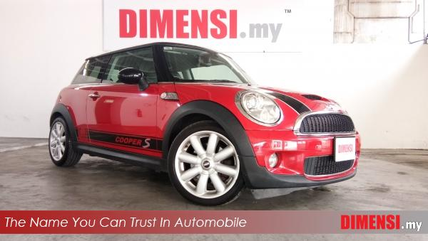 sell MINI Cooper S 2007 1.6 CC for RM 62800.00 -- dimensi.my