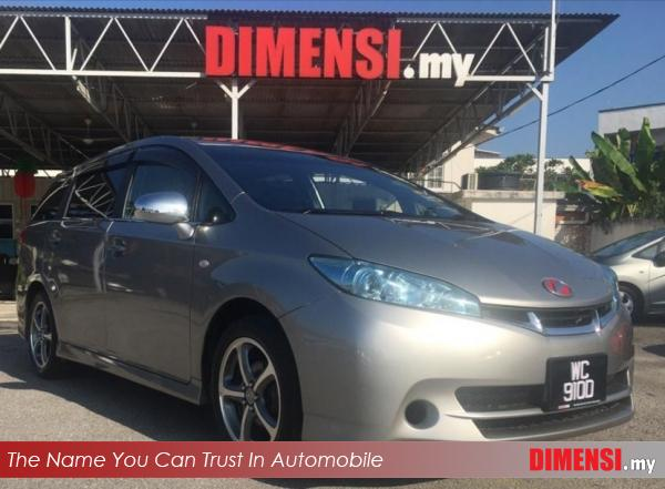 sell Toyota Wish 2010 1.8 CC for RM 62900.00 -- dimensi.my