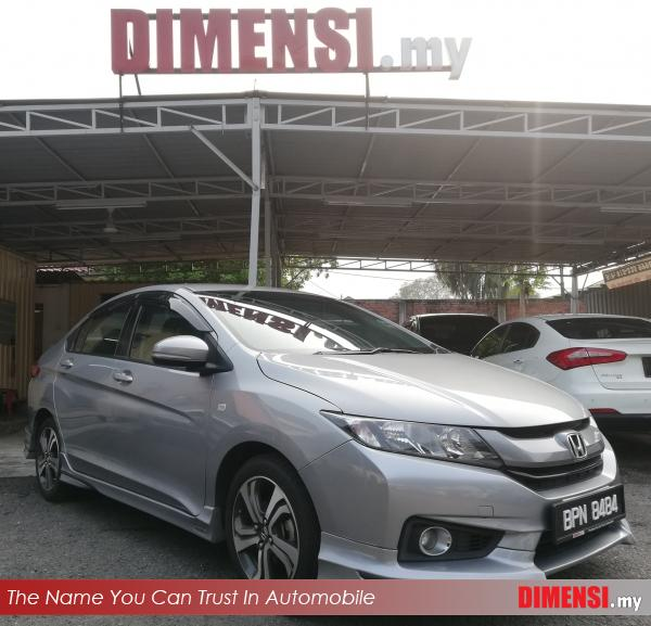 sell Honda City 2017 1.5 CC for RM 56900.00 -- dimensi.my