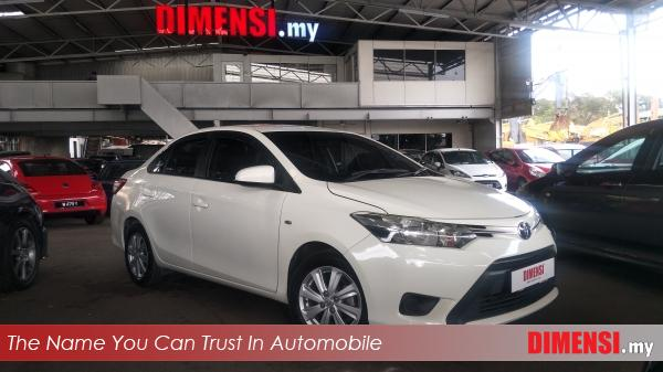 sell Toyota Vios 2014 1.5 CC for RM 49800.00 -- dimensi.my