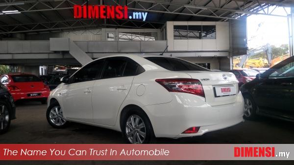 sell Toyota Vios 2014 1.5 CC for RM 49800.00 -- dimensi.my the name you can trust in automobile
