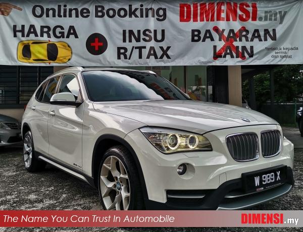 sell BMW X1 2013 2.0 CC for RM 73800.00 -- dimensi.my