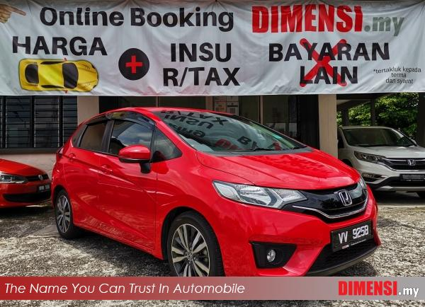 sell Honda Jazz 2017 1.5 CC for RM 62900.00 -- dimensi.my