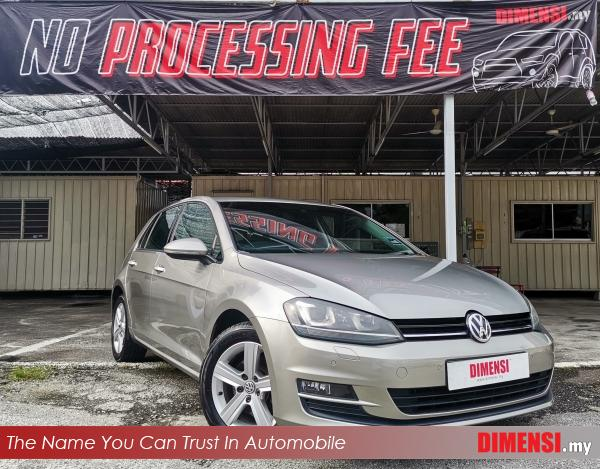 sell Volkswagen Golf 2013 1.4 CC for RM 59900.00 -- dimensi.my