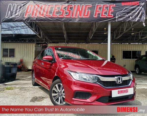 sell Honda City 2018 1.5 CC for RM 64900.00 -- dimensi.my