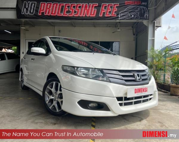 sell Honda City 2010 1.5 CC for RM 30800.00 -- dimensi.my