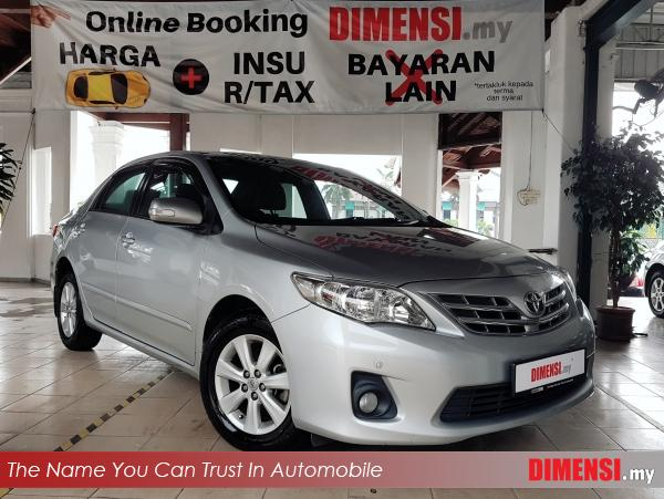 sell Toyota Altis 2013 1.6 CC for RM 39890.00 -- dimensi.my