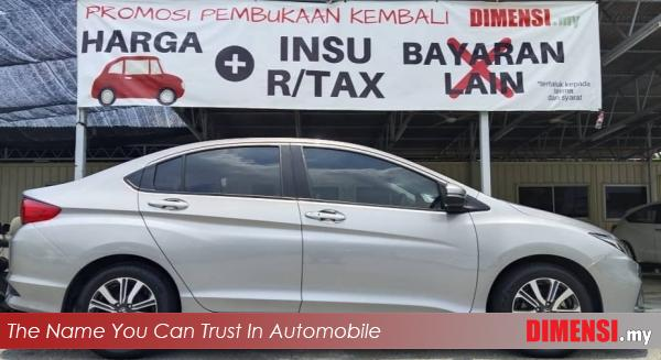 sell Honda City 2018 1.5 CC for RM 67900.00 -- dimensi.my the name you can trust in automobile