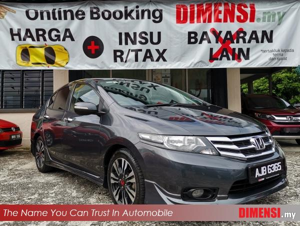 sell Honda City 2012 1.5 CC for RM 38900.00 -- dimensi.my